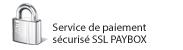 Paiement s�curis� : Service de paiement s�curis� SSL PAYBOX