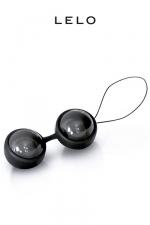 Luna Beads Noir - boules de Geisha - De subtiles vibrations qui intensifient les plaisirs... avec les Loveballs Luna Beads de Lelo, vivez vos fantasmes les plus fous !