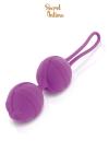 Boules de Geisha violettes Secret Intime - Très jolie Smartball violette signée Secret Intime.
