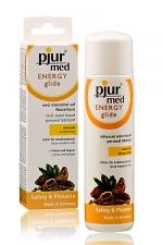 Lubrifiant Pjur Energy glide - A la fois un lubrifiant et un stimulant � base de produits naturels.